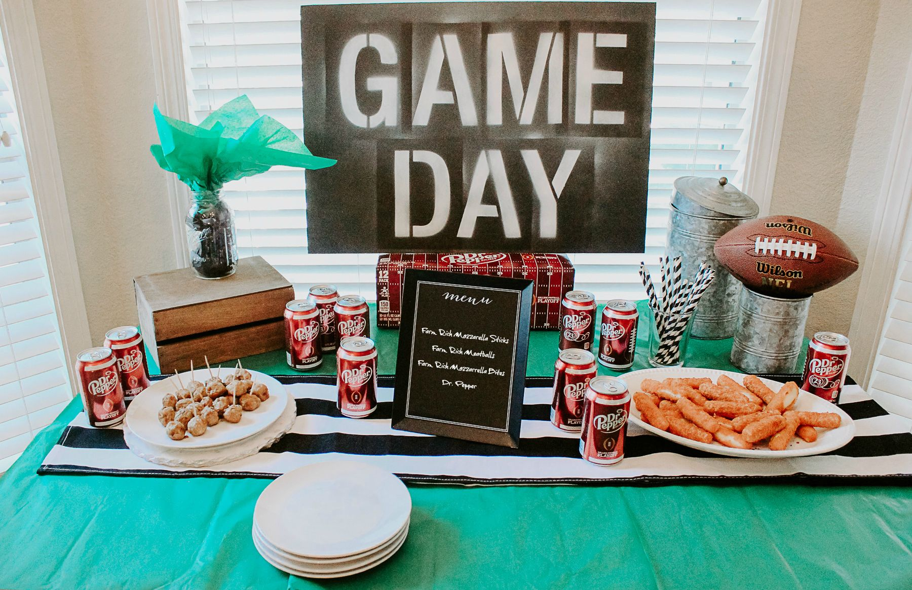 """""""Homegating"""" Football Party Ideas from Football party"""