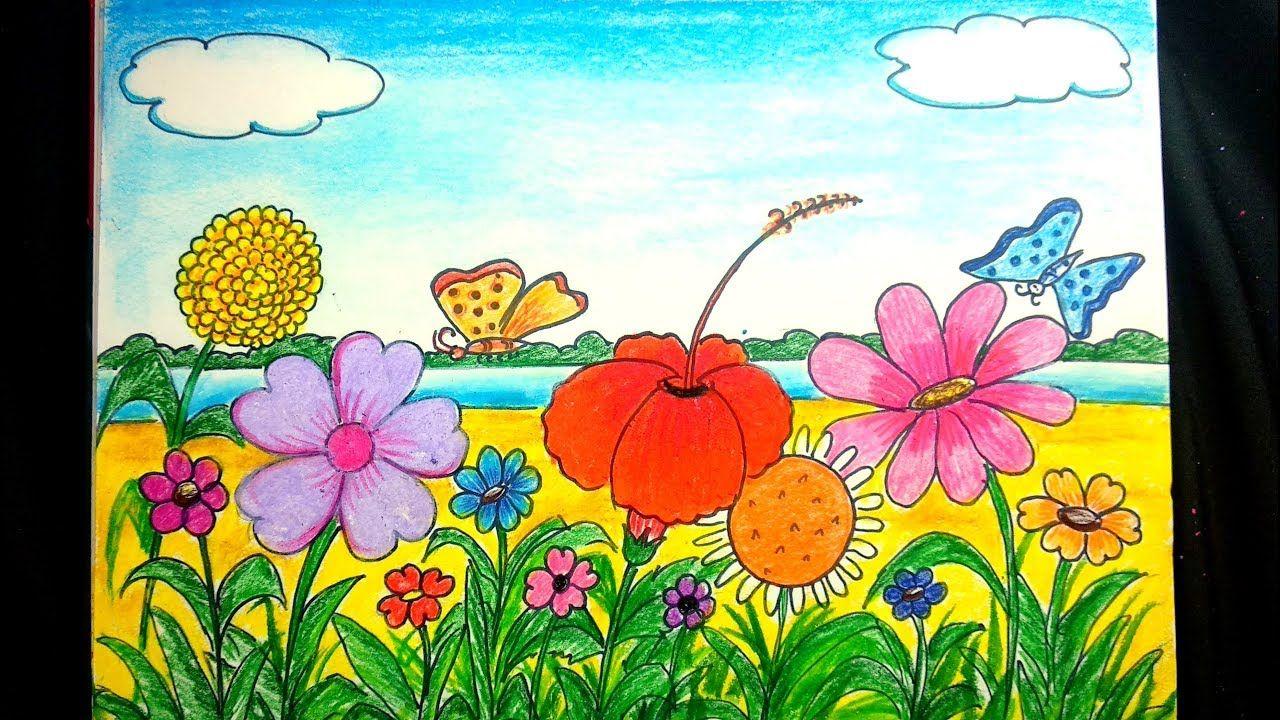 Draw Flower Garden