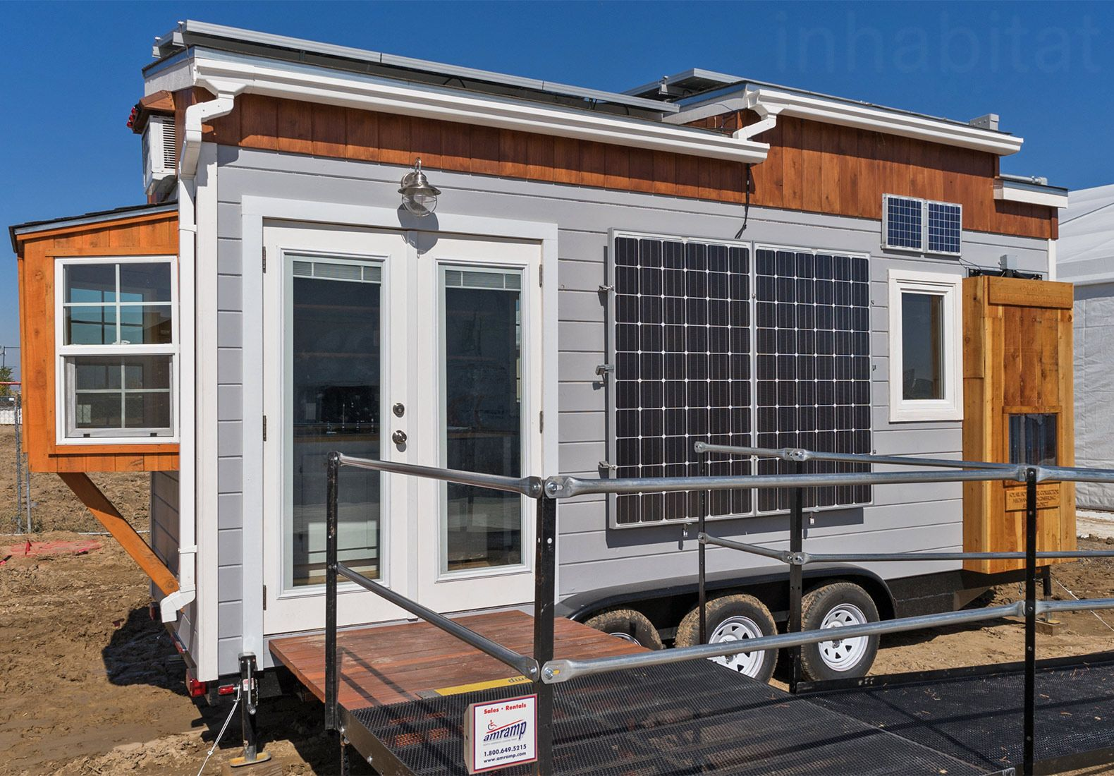 Student Built Solar Powered Tiny Home Represents New Vision For The American Dream Tiny House Trailer House On Wheels Tiny House Big Living