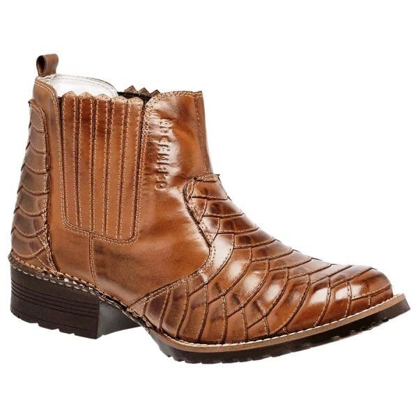 Bota Country Escamada Masculina Buaretto