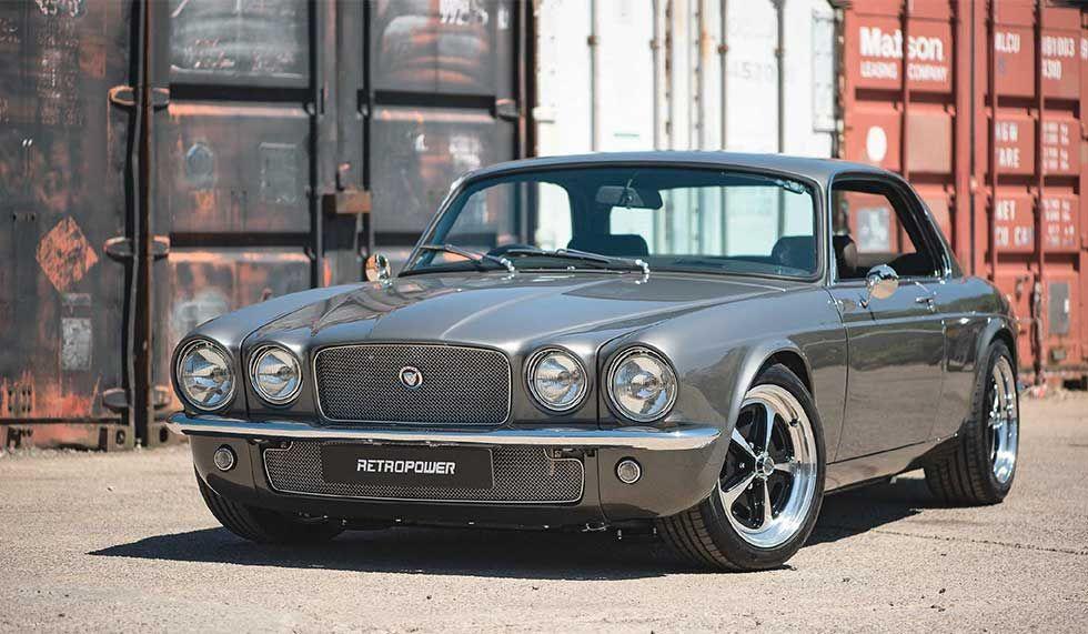 Jaguar XJC LS3 V8engined Restomod created by Hinckley