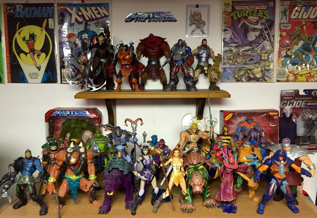 Masters of the Universe collection! 2002-2004 Series.  Sculpted by Four Horseman Studios. Great figures.
