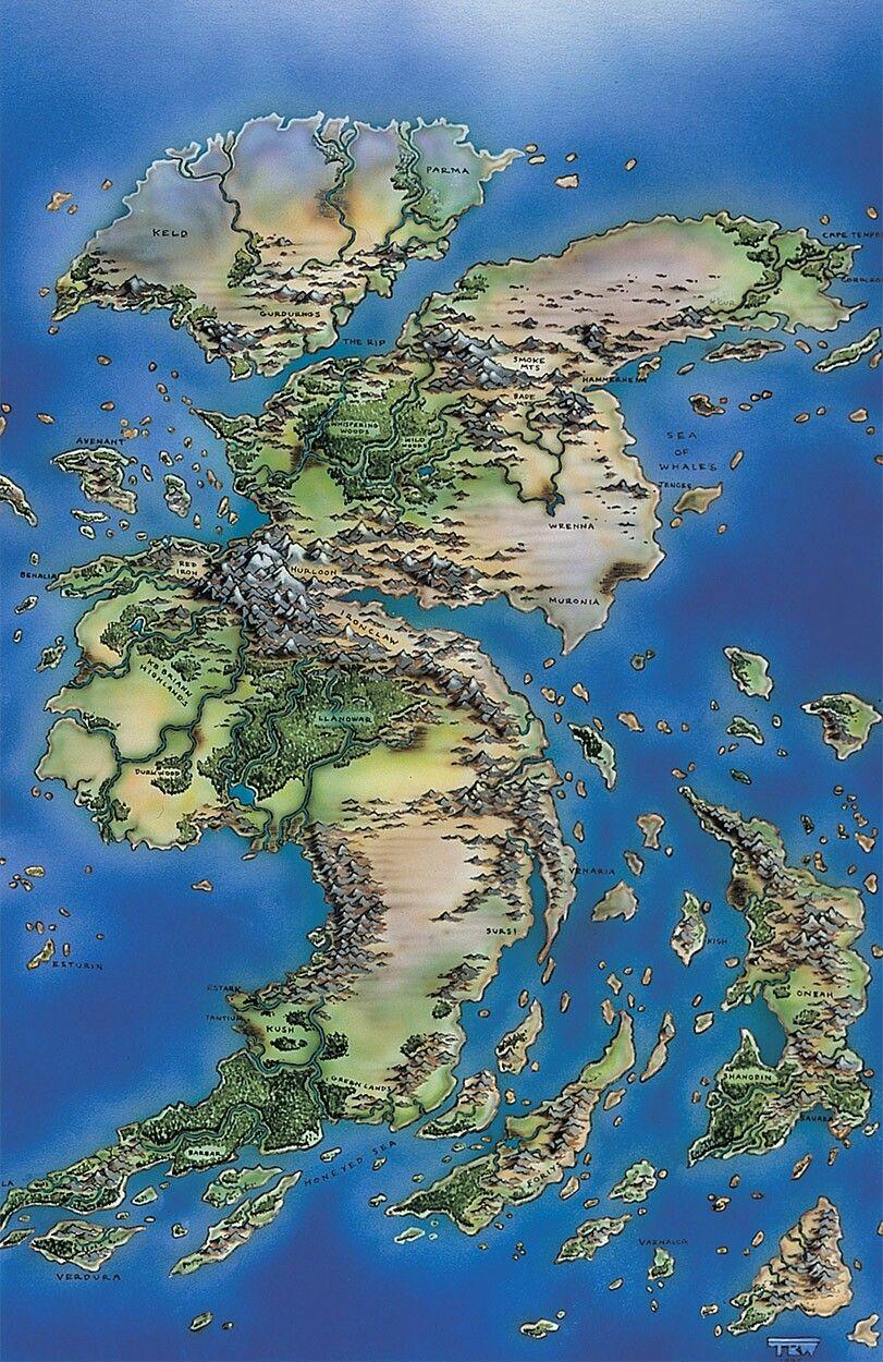 Dnd World Generator : world, generator, Hilde, Bijmolen, Fantasy, World, Landscape,