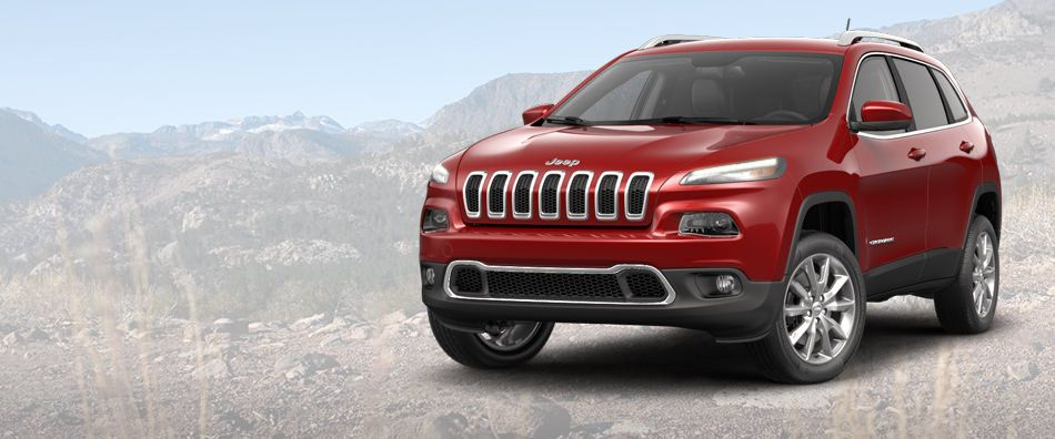 2014 Jeep Cherokee SUV with 9 Speed Auto Transmission