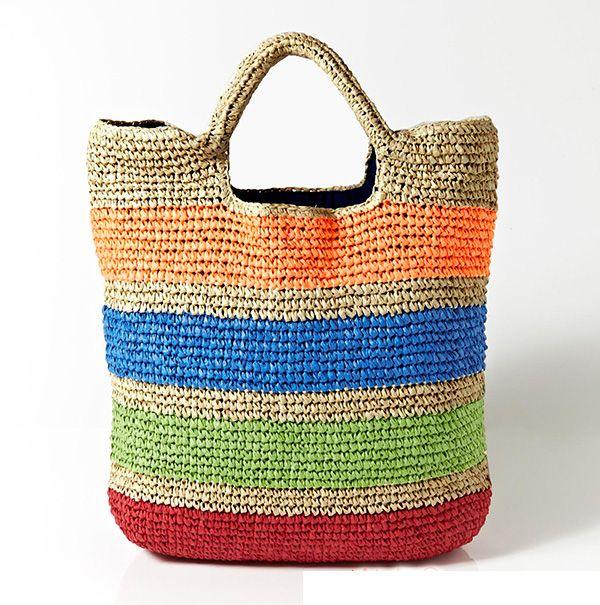 New Fashion Straw Handbag for Summer 2017 | Fashion | Pinterest ...
