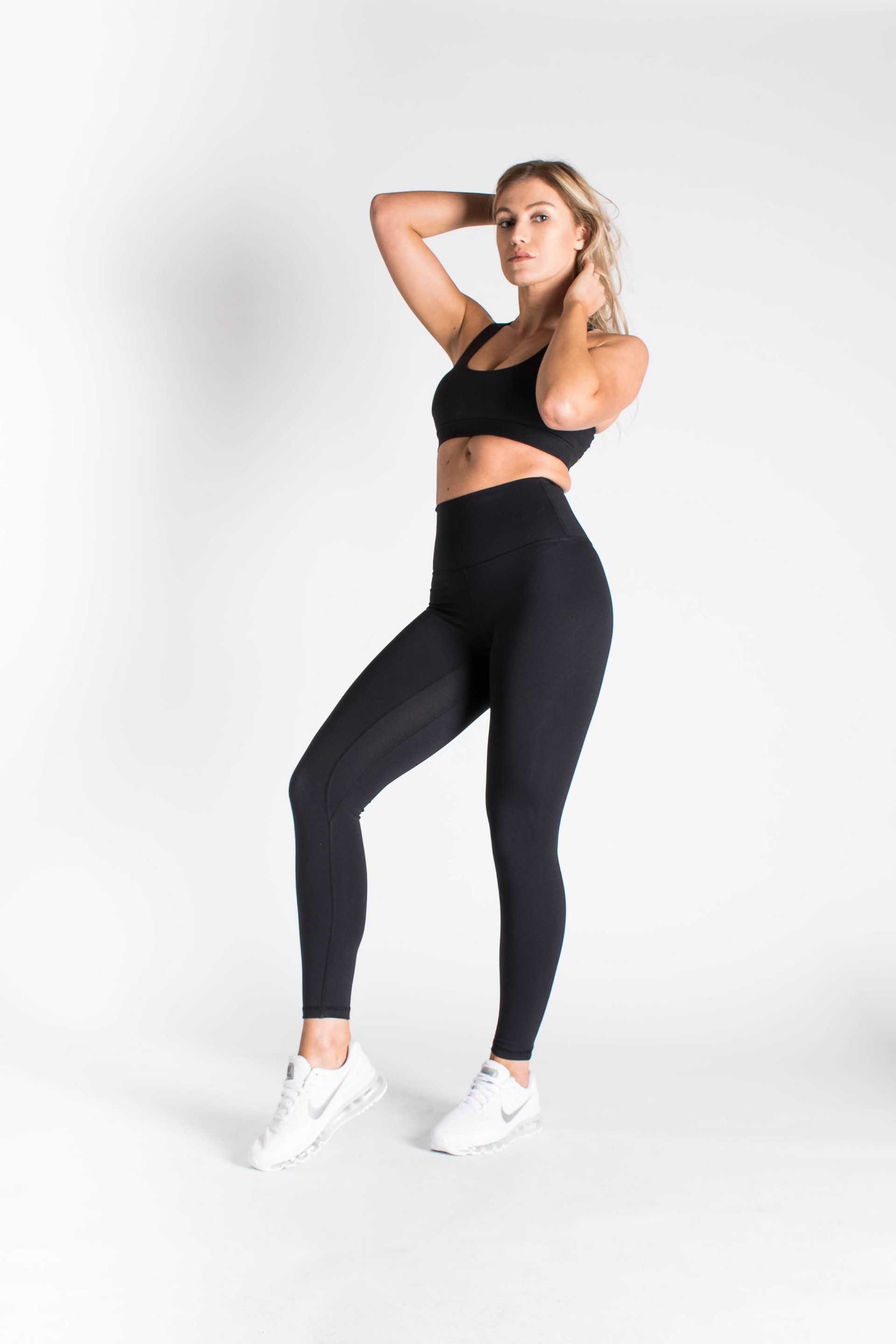 2b9574a70a Luxe Leggings - Jet Black – FLEXXFIT Fitness Outfits, New Wardrobe, Soft  Fabrics,