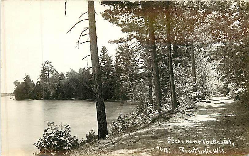 Scene at Flecks Elkhart Lake, Wisconsin WI Original