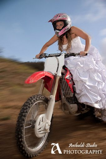 Jenn Trashes the Dress! | Heather's Wedding | Dirt bike ...