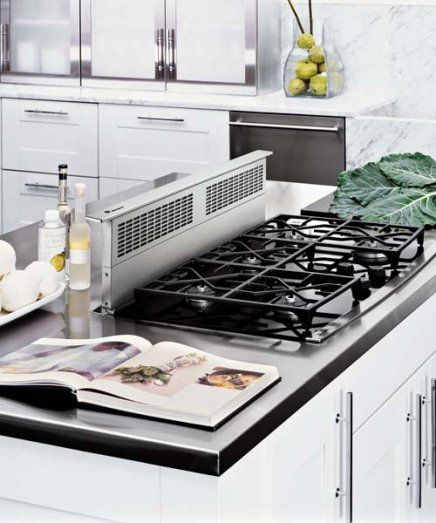 Kitchen Peninsula Cooktop: Kitchen Island With Stove, Kitchen Remodel, Kitchen Stove