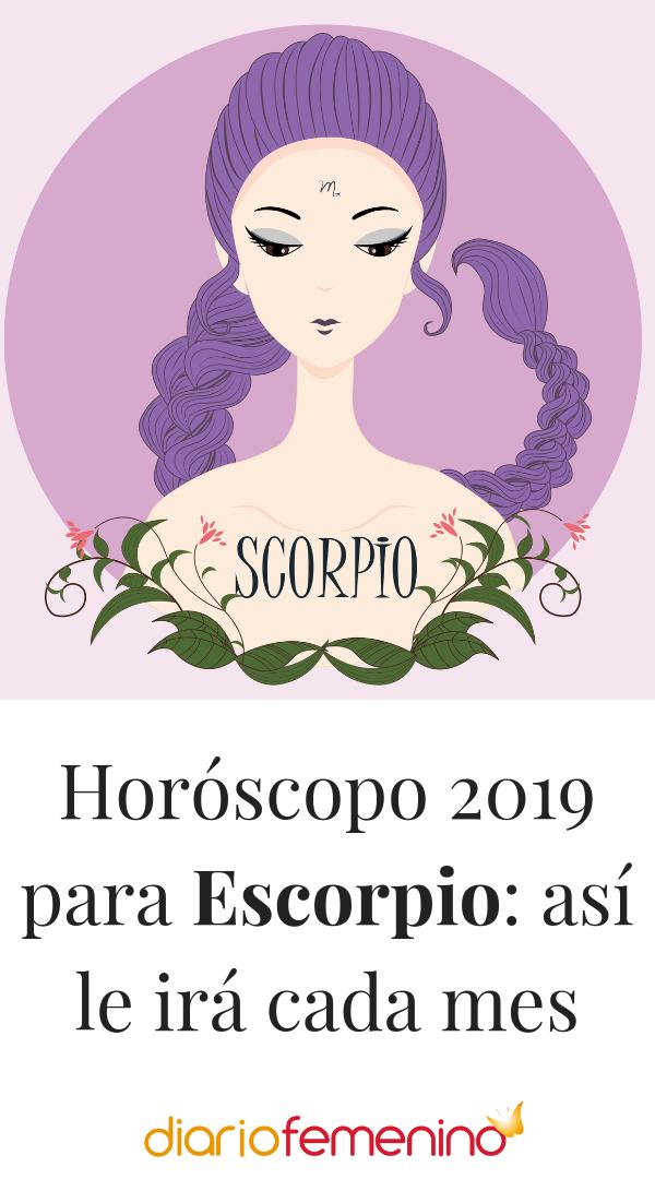 Escorpio Según El Horóscopo En 2019 Te Irá Escorpio Citas Del Zodiaco Horoscopos