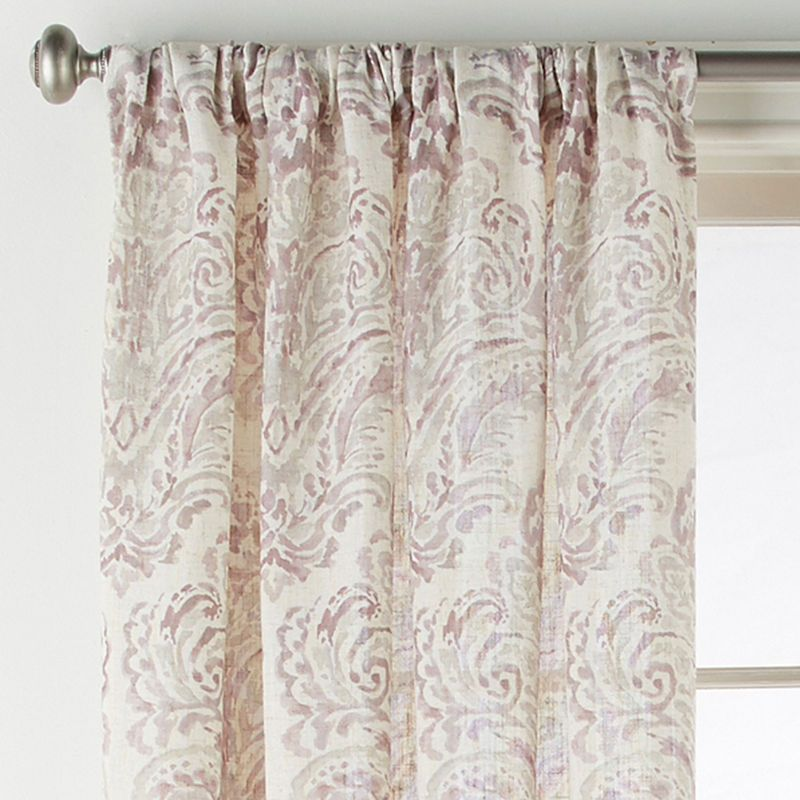 Jcpenney Home Santorini Light Filtering Rod Pocket Curtain Panel