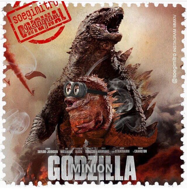 Godzilla Quotes: Box Office Minions ~ Godzilla