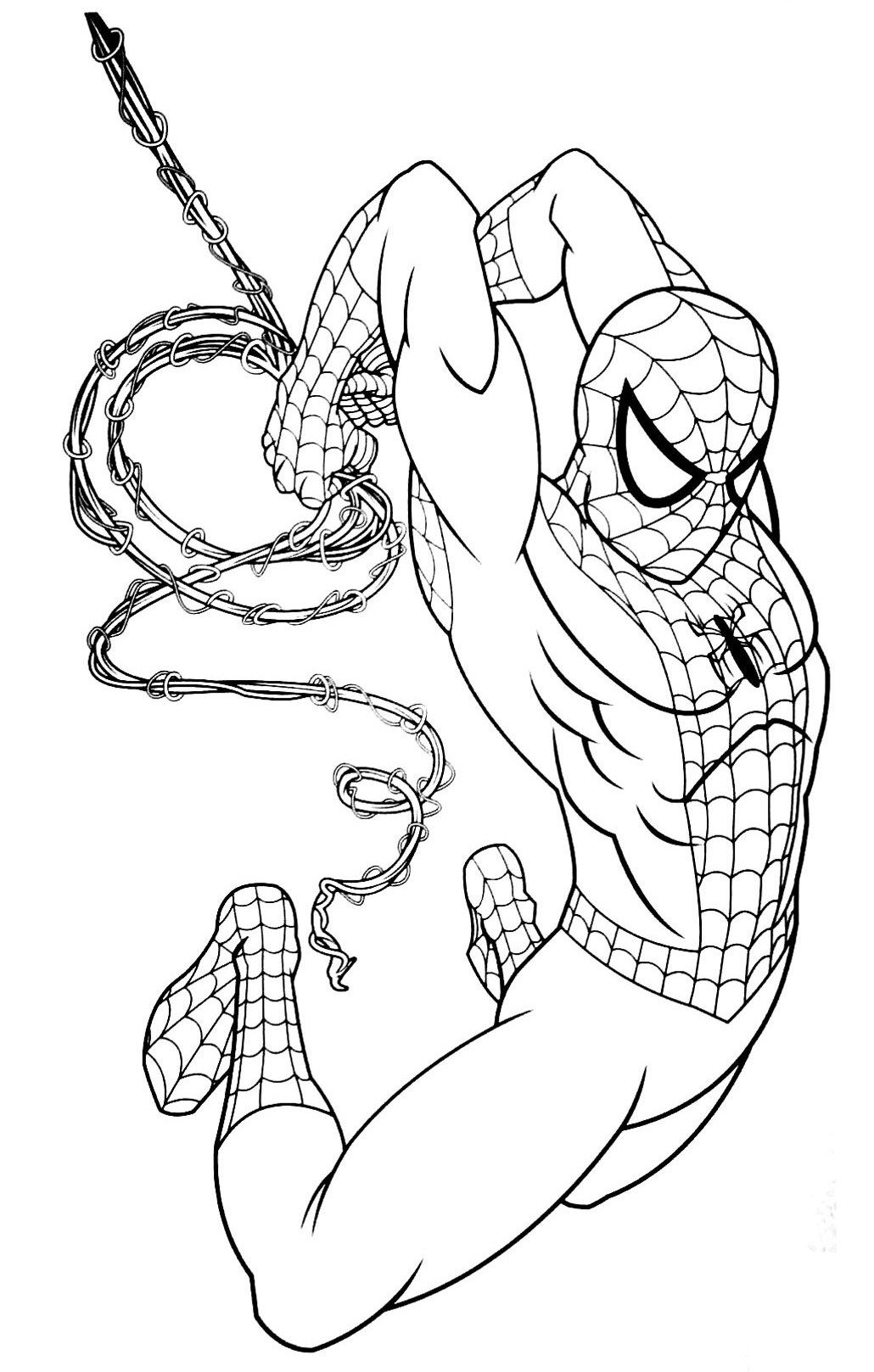 Pin by ColoringsWorld.com on Spiderman Coloring Pages ...