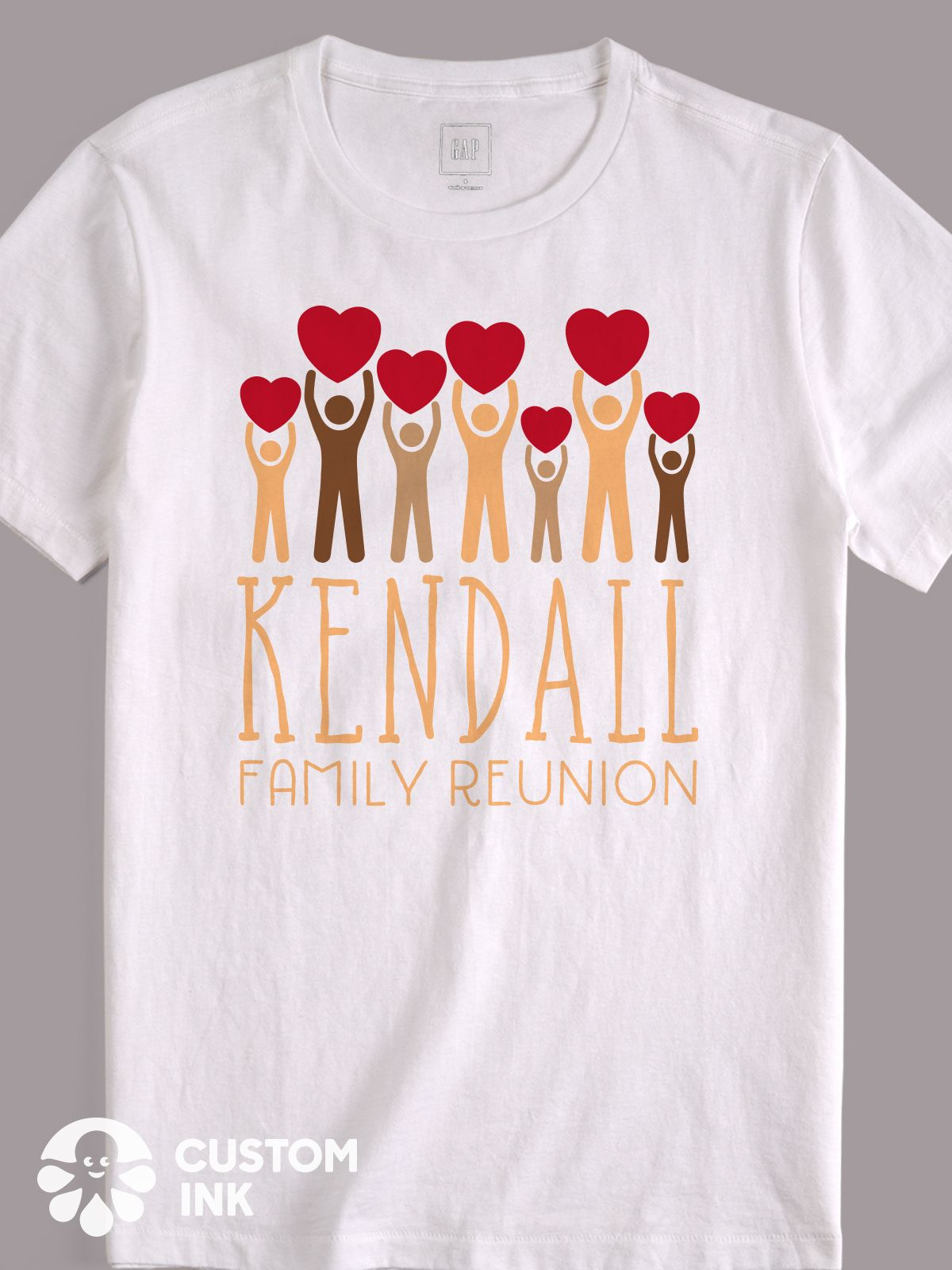 Great design idea for custom family reunion t-shirts, shirts, tees ...