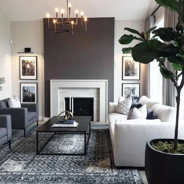 38 Gorgeous Grey Living Room Ideas In 2020 Modern Contemporary Living Room Living Room Grey Elegant Living Room