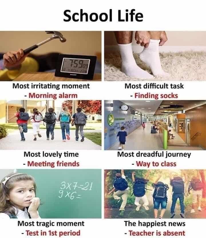 #memories school day