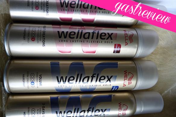 Gastreview nieuwe Wellaflex Hairsprays – door Elise