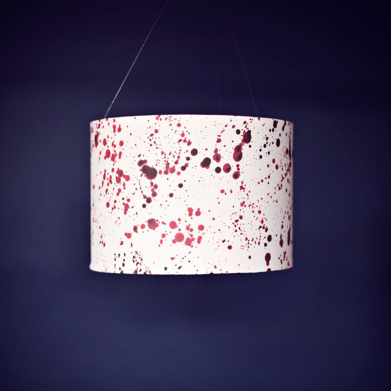 red lamp shade ikea | Lamp shade, Red lamp shade, Drum lampshade