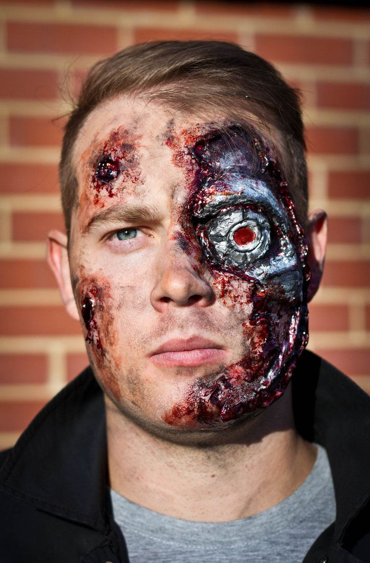 Terminator Makeup #2 by Freakmo-SFX | special fx ...