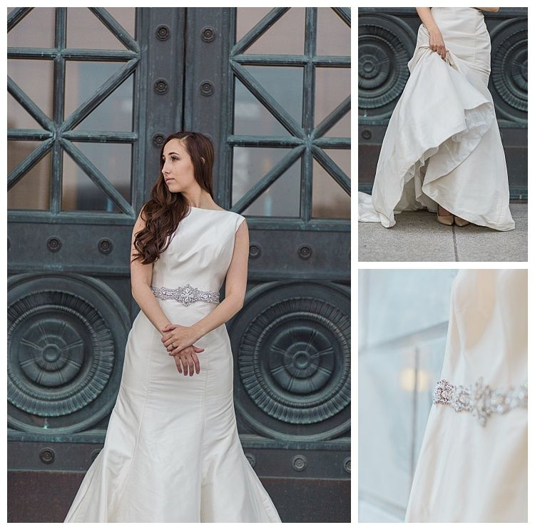 The Fitzgerald Gown By Allure Bridal Is A Sleeveless