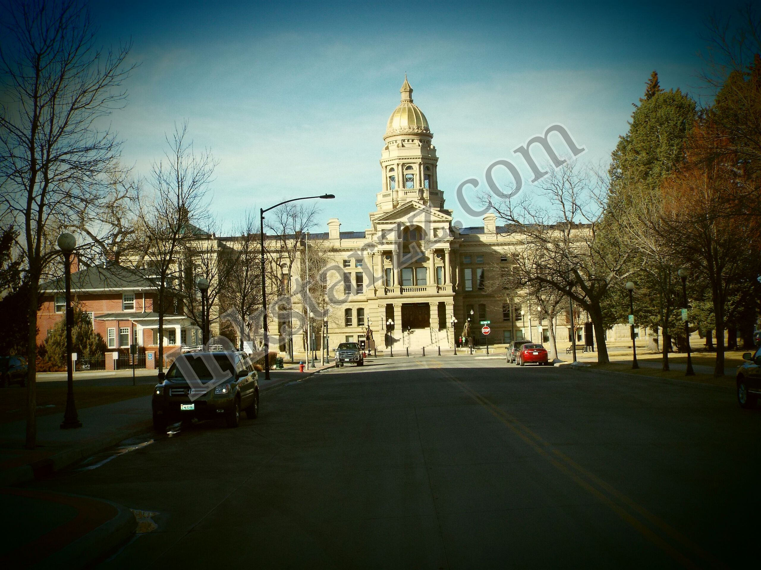 Capitol  Of Wyoming