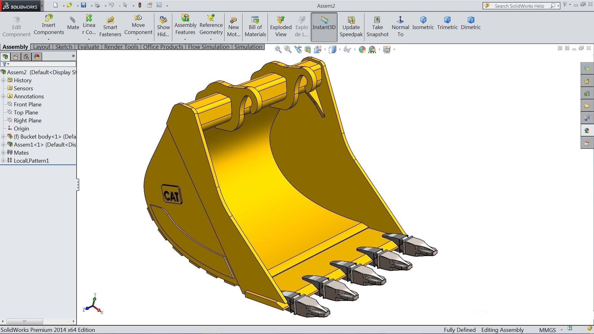Solidworks Tutorial Sketch Excavator Bucket In Solidworks Solidworks Tutorial Excavator Buckets Industrial Design Sketch