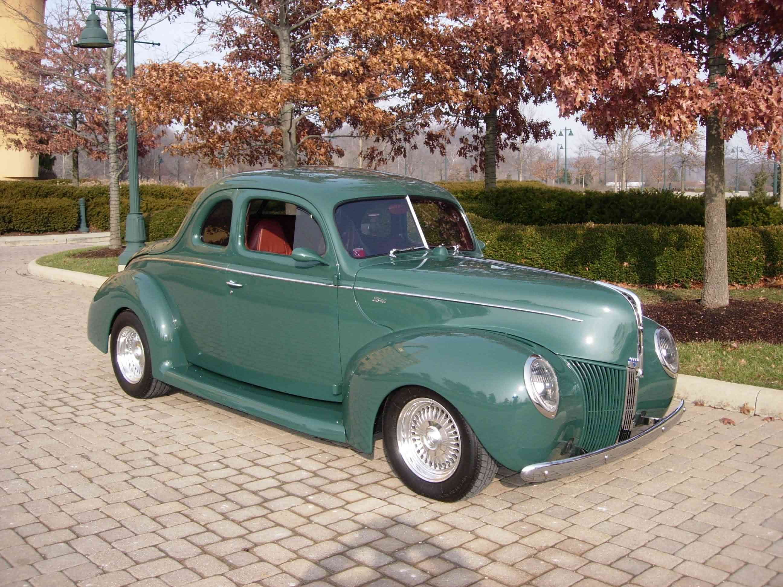 1940 Ford Coupe Classic Cars Usa Hot Rods Cars Classic Cars Trucks