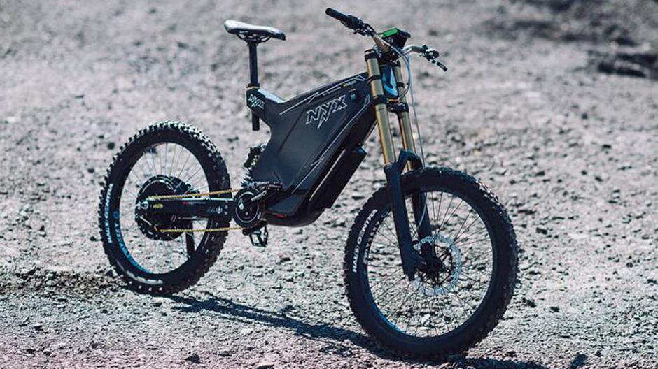Custom Carbon Electric Mountain Bike Cargo Bike King Con