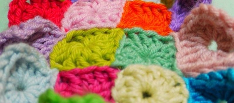 how to join crocheted granny squares together
