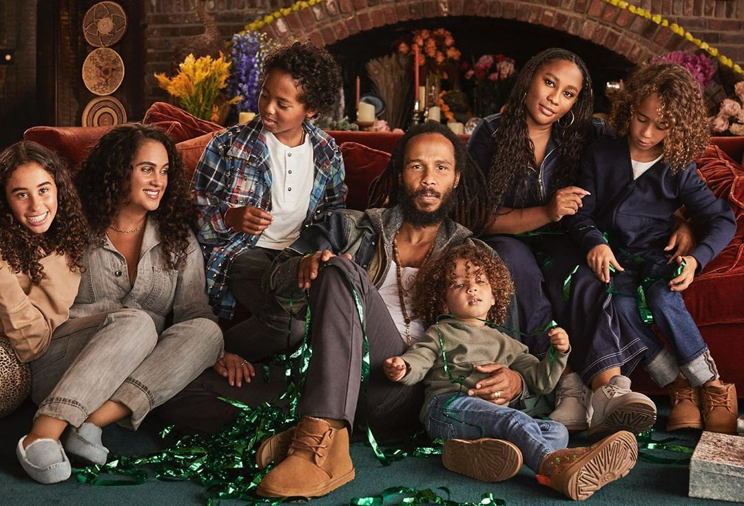 Ziggy Christmas 2020 Musician, Ziggy Marley With His Beautiful Family in 2020 | Ziggy