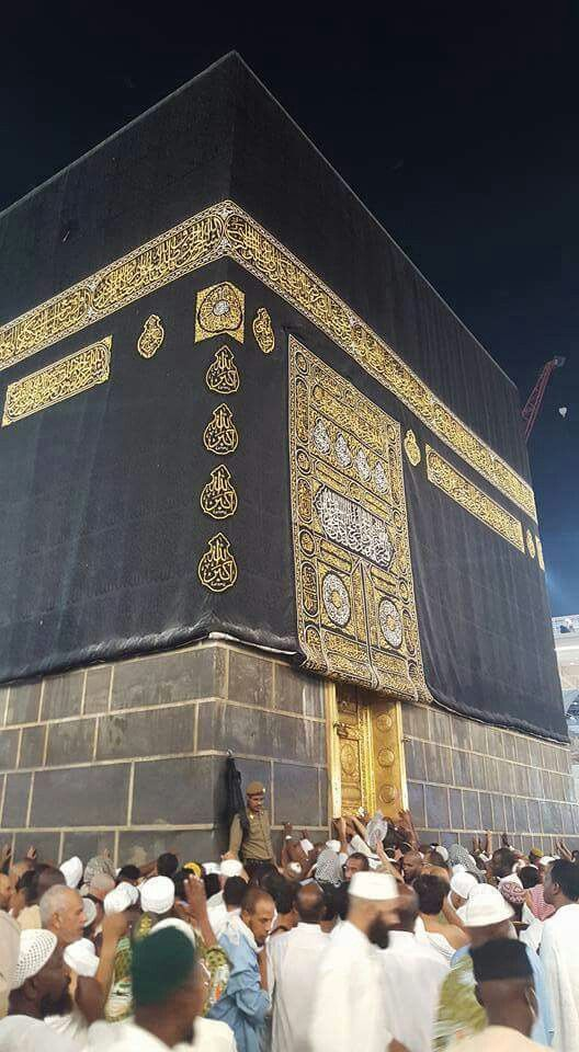 Alhamdulilah I was so lucky to go for umrah and was so close to the