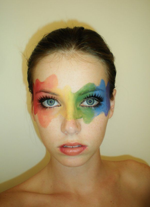 e696849611c Rainbow Mask by ~starbuxx on deviantART | Make Up in 2019 | Rainbow ...
