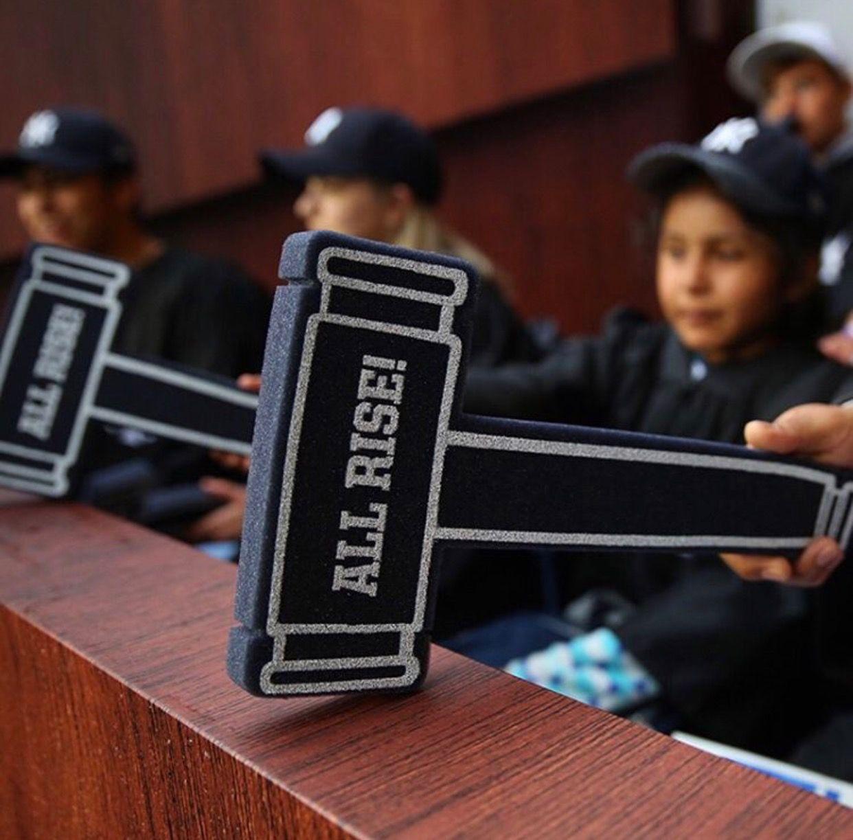 The Judge S Chamber New York Yankees Judge Yankees