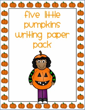 Trick Or Treat Smell My Feet Writing Paper Pack Halloween Writing Fall Lessons Writing Paper