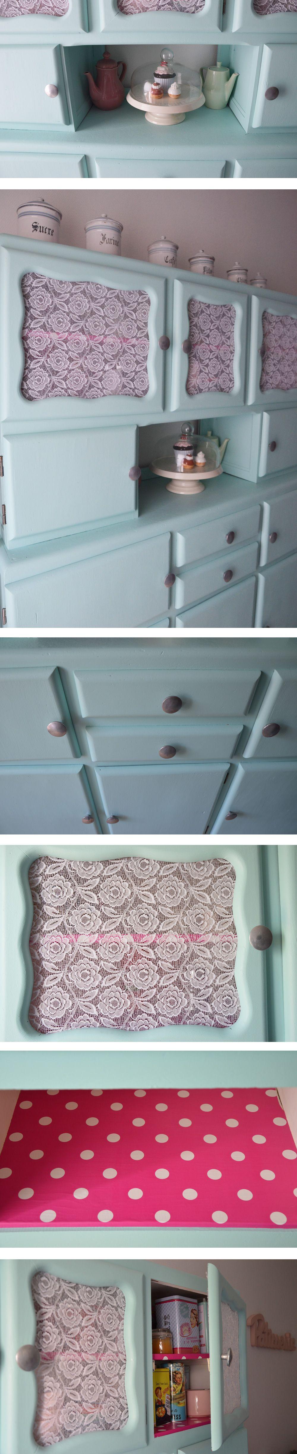 diy relooking de mon buffet vintage des ann es 50 meuble vintage bricolage mill sime des. Black Bedroom Furniture Sets. Home Design Ideas