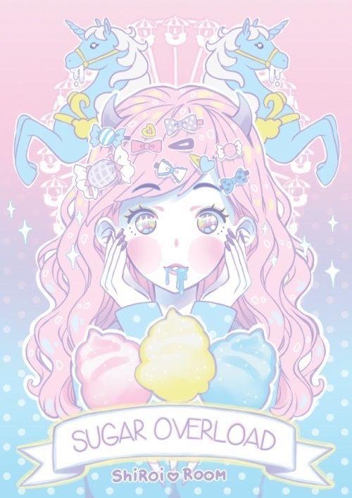 Resultado De Imagem Para Anime Girl Unicorn Tumblr