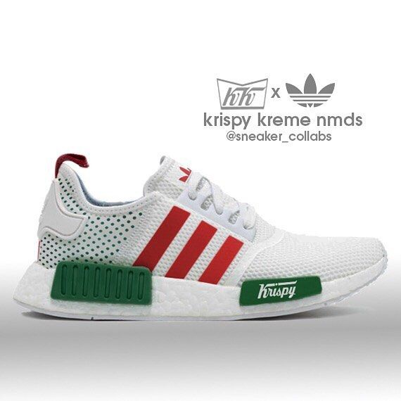 Adidas NMD x Krispy Kreme (look out for a real version soon)
