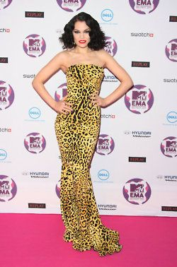 Jesse J. wearing Dolce at the EMA's