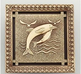 Uythner Shower Drains 12 12cm Square Bath Drains Strainer Hair Antique Brass Art Carved Bathroom Floor Drain Waste Grate Dr In 2020 Floor Drains Art Carved Square Bath