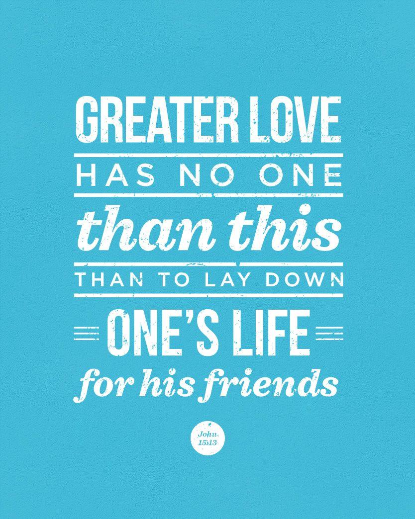 John 15:13 design