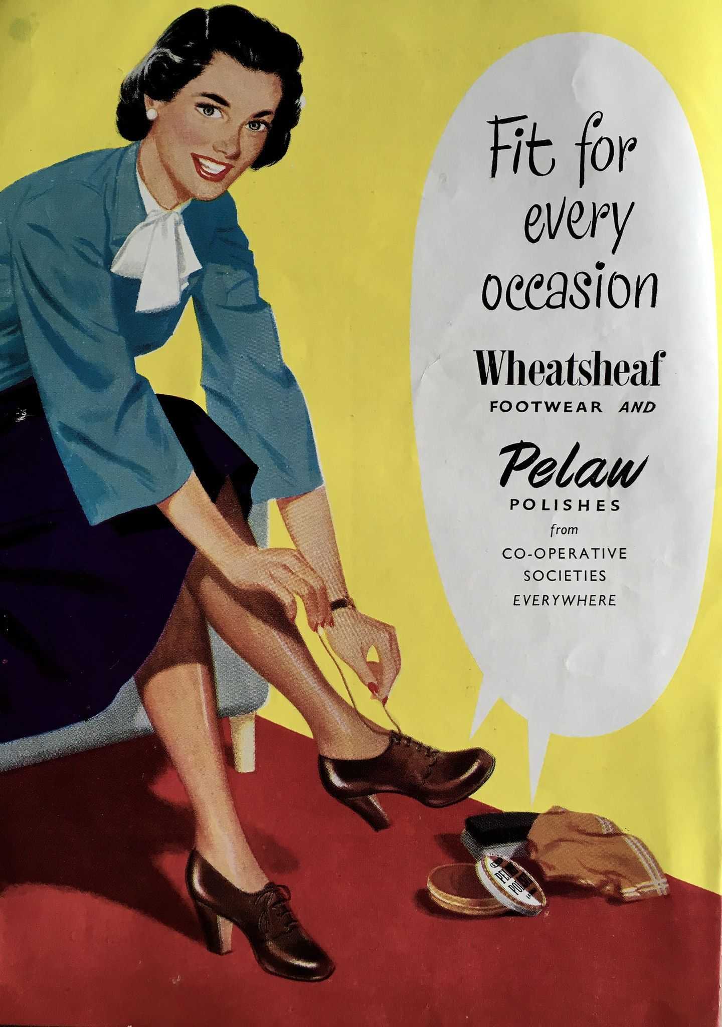 Fit for every occasion Coop Wheatsheaf shoes and Pelaw polish