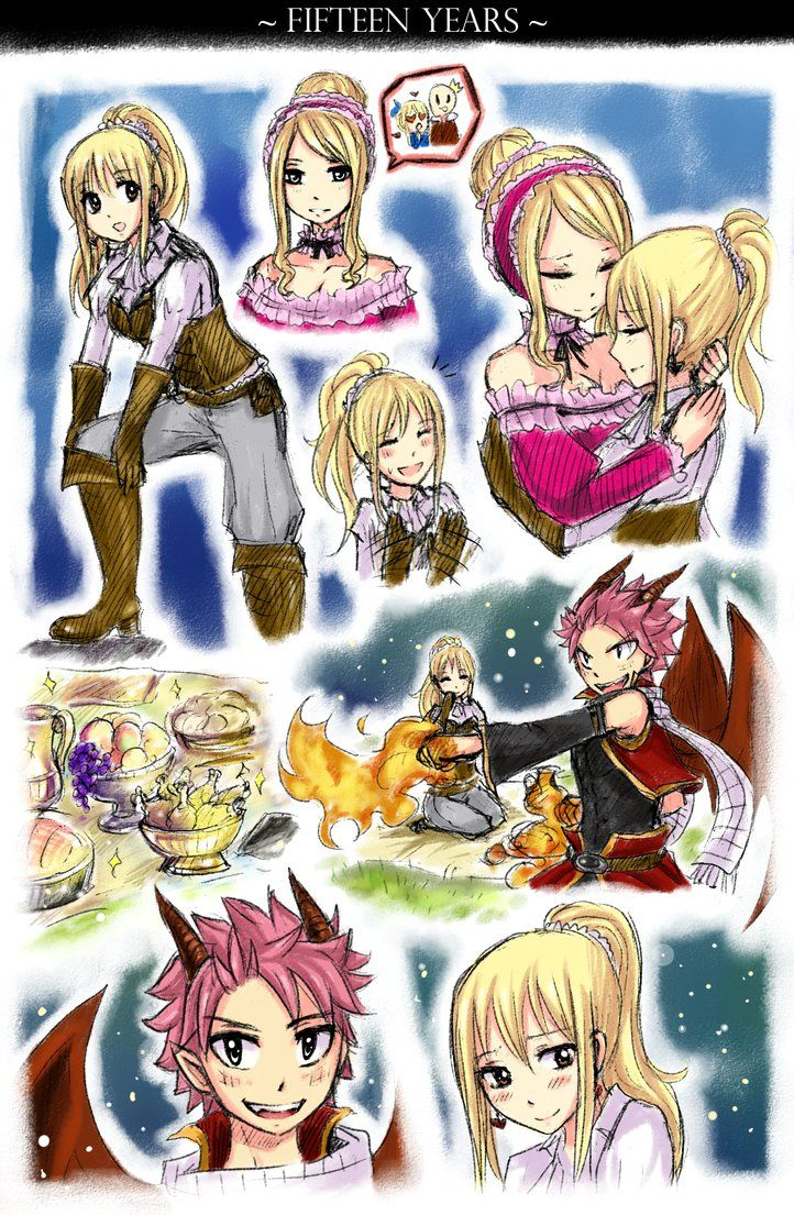 Fairy Tail Fanfiction End Revealed: Fireflies [3] By LeonS-7 On DeviantArt