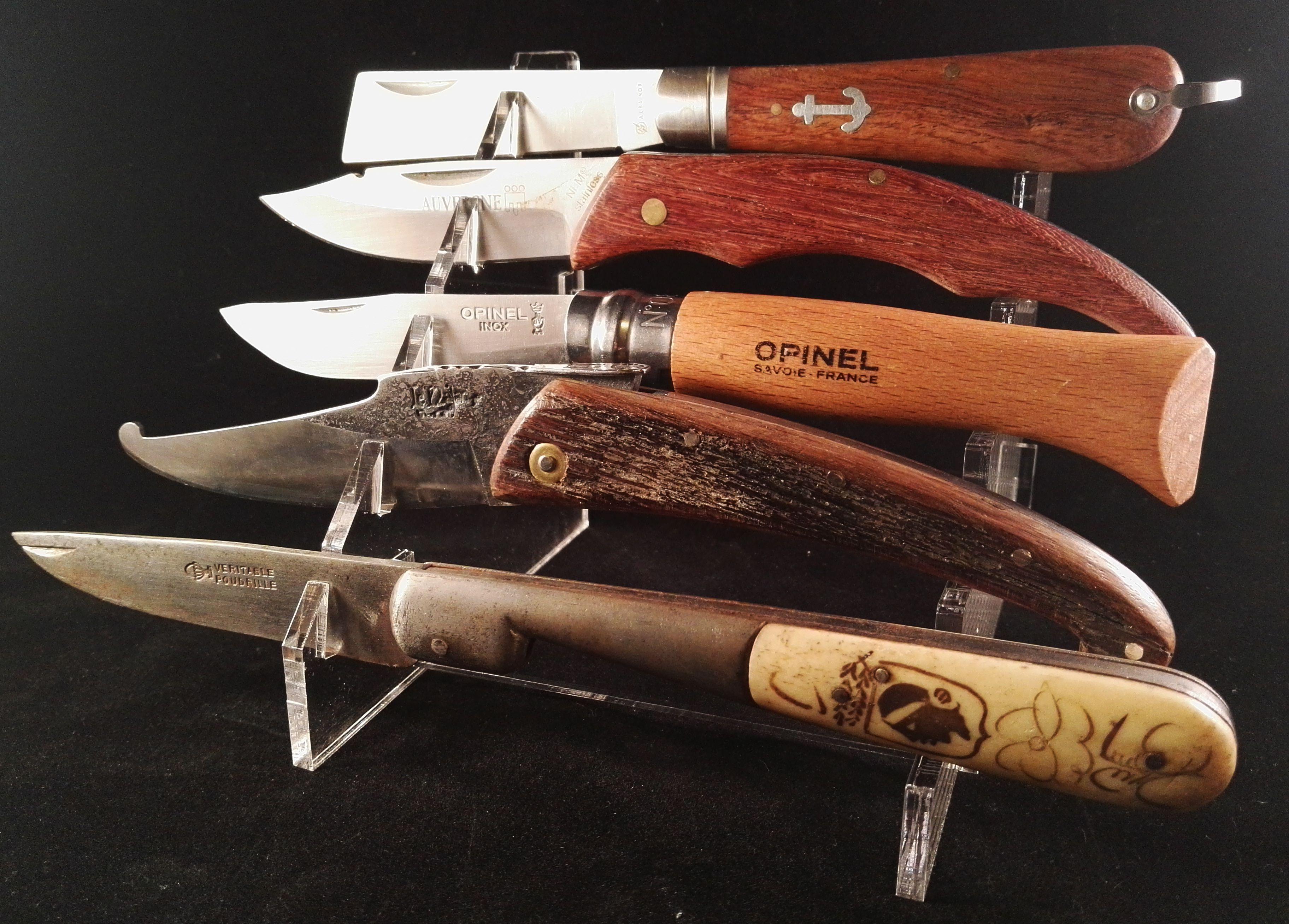Presentoir Plexi Pour 5 Couteaux Presentoir Couteau Creations