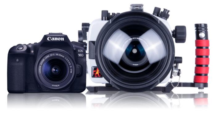 Ikelite S 200dl Underwater Housing For Canon Eos 90d Dslr Cameras Now Available For Pre Order Https W Underwater Camera Dslr Camera Underwater Camera Housing