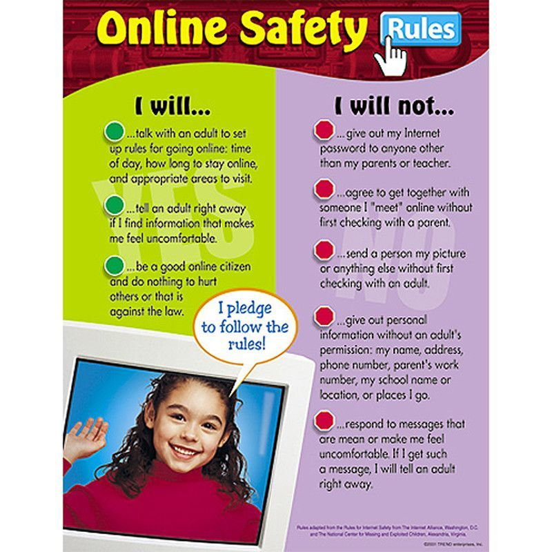 Do's and don'ts for the student user. These