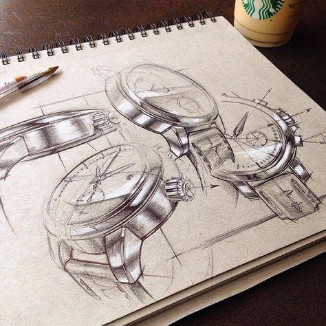Armbanduhr skizze  Pin von Carlo auf Disegni orologi | Pinterest