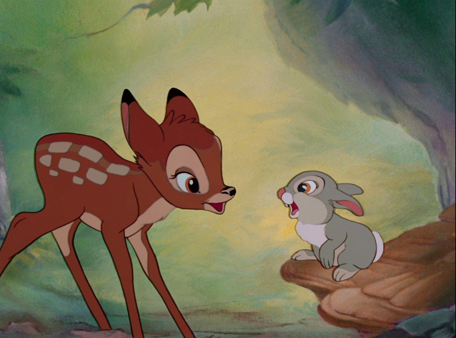 Bambi 1942 Animation Screencaps In 2020 Bambi Disney Bambi And Thumper Disney Art