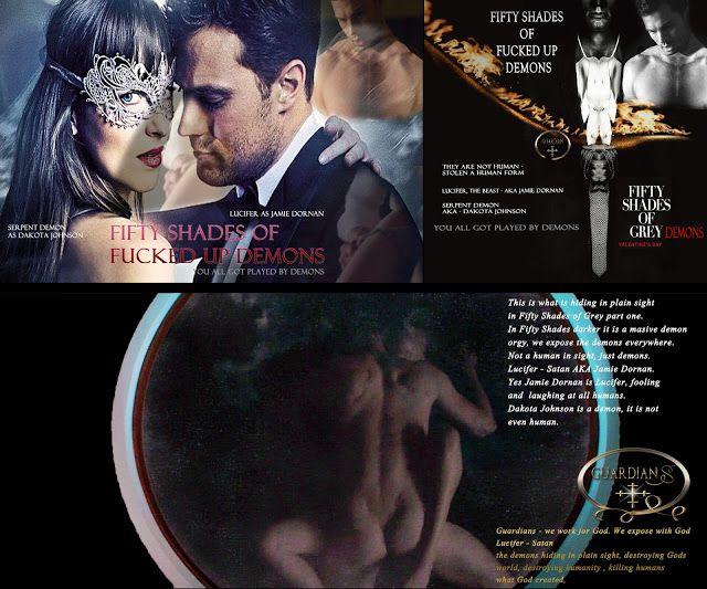 GUARDIANS: Fifty Shades Freed - Lucifer AKA Jamie Dornan demon deception world exclusive