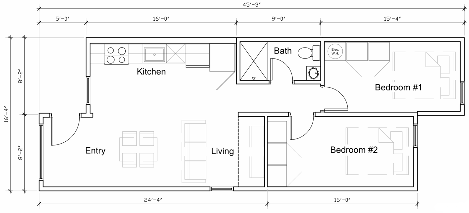 Photo 2 Of 22 In 11 Shipping Container Home Floor Plans That Maximize Shipping Container House Plans Container House Plans Small Floor Plans