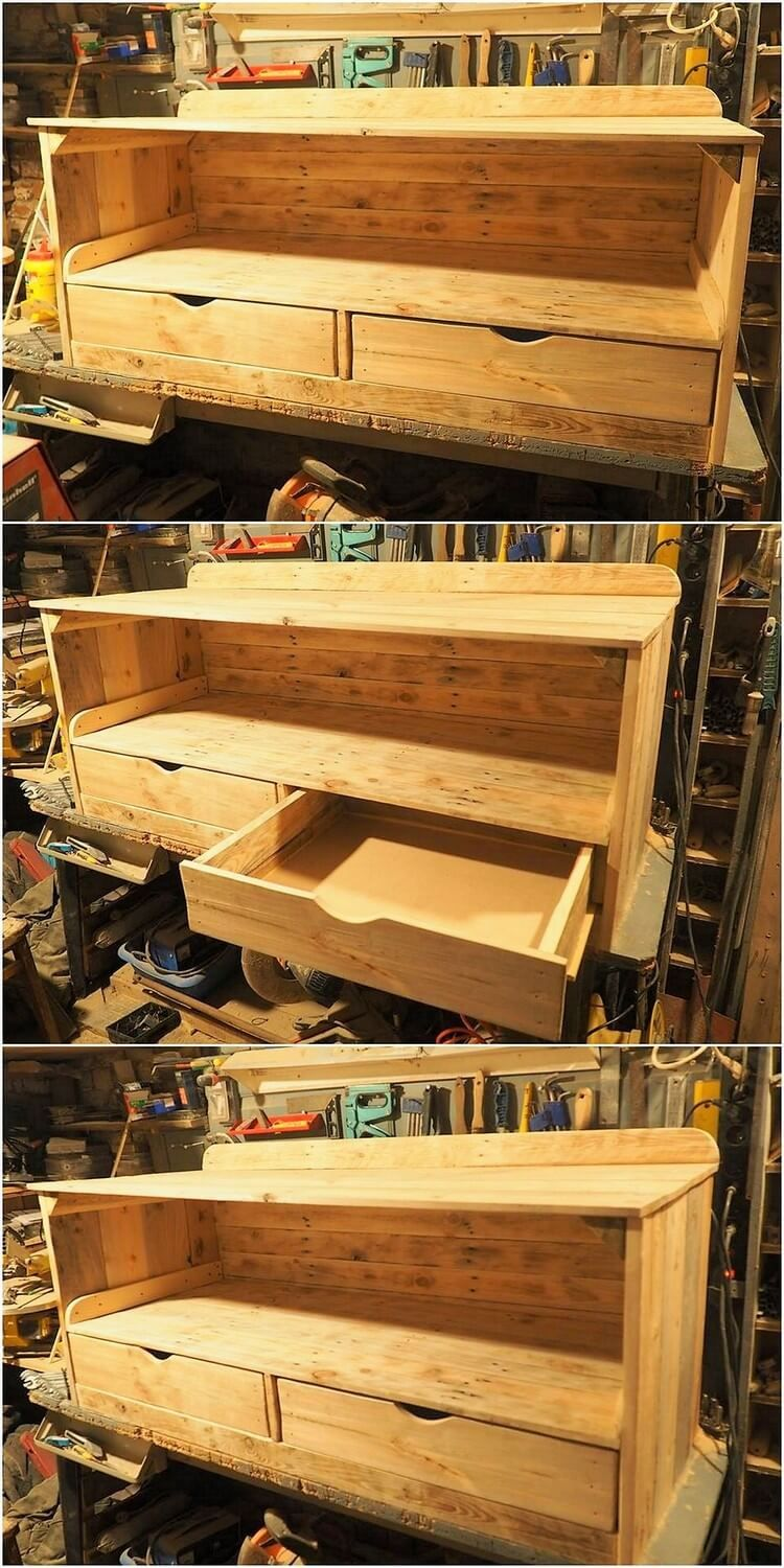 Best Inspirational Ideas for Old Pallets Reusing